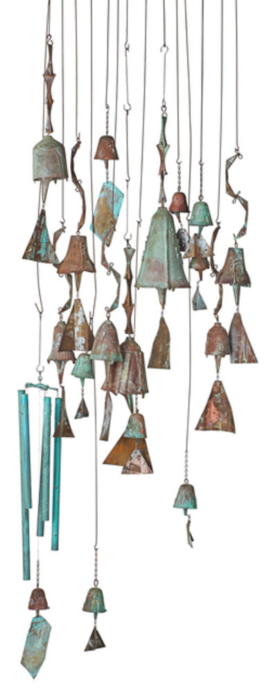 Paolo Soleri, 'Collection of hanging bells (sixteen as shown)'