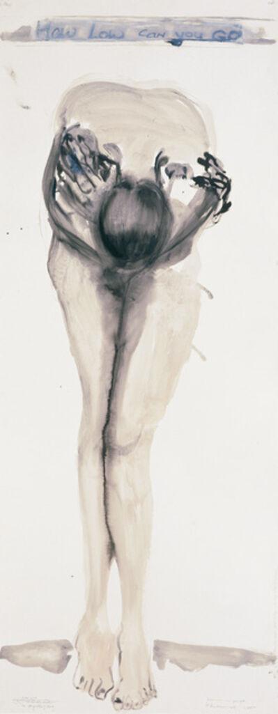Marlene Dumas, 'How Low Can You Go', 2000