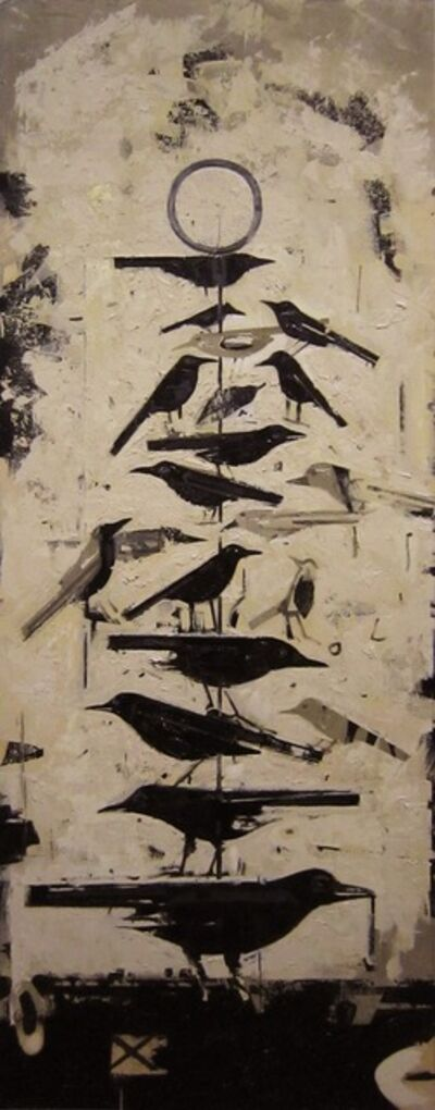 David deVillier, 'Playyard Aviary'