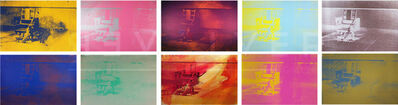 Andy Warhol, 'Electric Chair Complete Portfolio', 1971