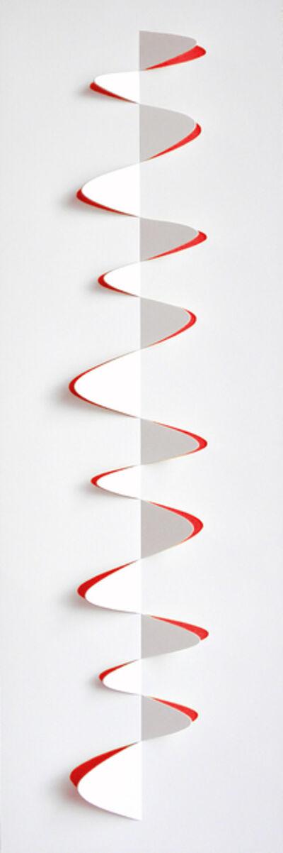 Juan Mejía, 'Signs No.10 White-orange', 2013