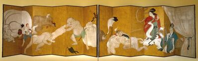 Itchō, 'Seven Gods of Good fortune', about 1700