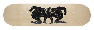 Cleon Peterson, 'In Killing We Live, Skateboard deck - Cleon Paterson x HUF'