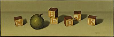 Robert Stark III, 'Seckel Pear and Letterblocks'