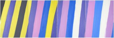 Ann Craven, 'Stripe (Quadruple Stripe, 7-29-15–10-31-15), 2015', 2015