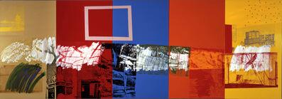 Robert Rauschenberg, 'New Year's Wall (Urban Bourbon) ', 1989