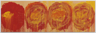 Cy Twombly, 'Untitled (Roses)', 2008