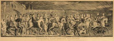 William Blake, 'Chaucer's Canterbury Pilgrims'