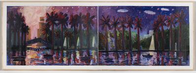 Carlos Almaraz, 'Mystery in the Park', 1989