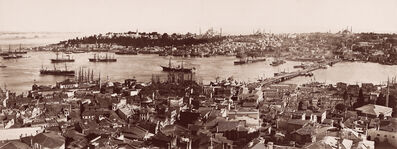 Abdullah Brothers, 'The Port from the Galata Tower', Mid-19th century