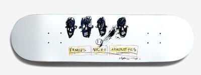 Jean-Michel Basquiat, 'Basquiat Skateboard Deck (Basquiat Negro Athletes)', 2018