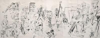 Jonathan Glass, 'Alan Ferber Big Band at Jazz Gallery', 2014