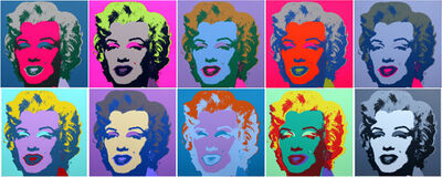 Sunday B. Morning, 'Marilyn Suite by Andy Warhol '