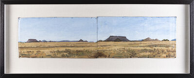 Simon Stone, 'Double Register Karoo Landscape', 2017