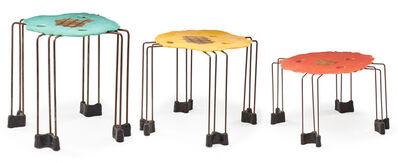 Gaetano Pesce, 'Triple Play nesting tables, Italy', 1995
