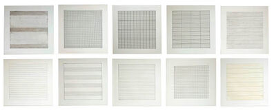 Agnes Martin, 'Agnes Martin Paintings and Drawings 1974-1990', 1991