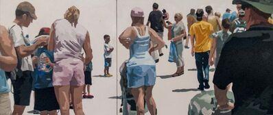 James Oliver (1972), 'Crowd (Composition #16)'