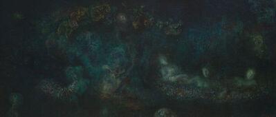 Leonor Fini, 'L'abreuvoir de nuit/ Le songes d'une nuit d'ete', 1963