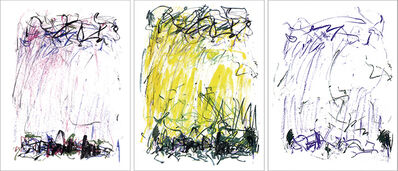 Joan Mitchell, 'Sides of a River I, II, and III', 1981