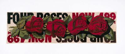 Dorothy Grebenak, 'Four Roses', ca. 1964