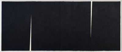 Richard Serra, 'Triple Rift #3', 2018