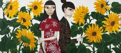 Liu Yi-Lan 柳依蘭, 'Sunflower Blooms Tilt Toward Sun', 2015
