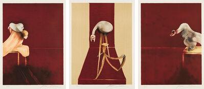 Francis Bacon, 'Deuxième version du triptyque, 1944 (Second Version of the Triptych 1944)', 1989