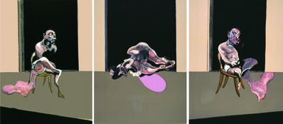 Francis Bacon, 'Triptych - August 1972', 1989
