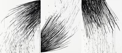 Yoon-Hee, 'Traçage triptyque', 2015