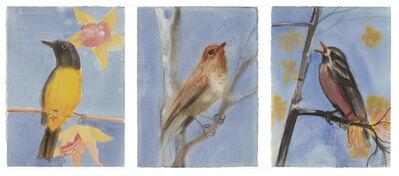 Ann Craven, 'Three works: (i) Summer; (ii) Fall; (iii) Winter Please', 2001