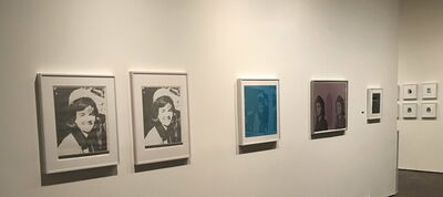 Andy Warhol, 'installation view of Jacqueline Kennedy I, untitled (Jackie Kennedy), and Jacqueline Kennedy II', 1965, 1968, 1965 respectively