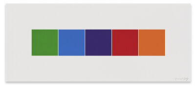 Ellsworth Kelly, 'Color Squares 4', 2012