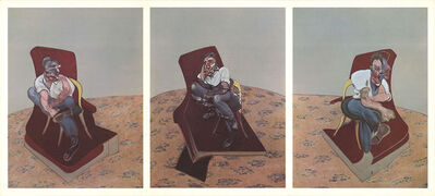 Francis Bacon, 'Three Studies (Triptych)', 1966