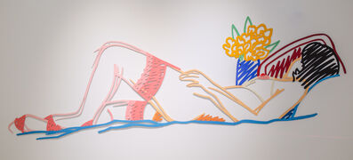 Tom Wesselmann, 'Nude with Bouquet and Stockings (Variation #7)', 1985