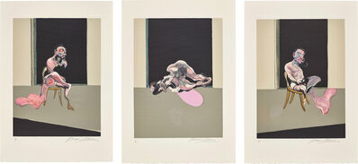 Francis Bacon, 'Triptyque Août 1972 (after, Triptych August 1972)', 1979