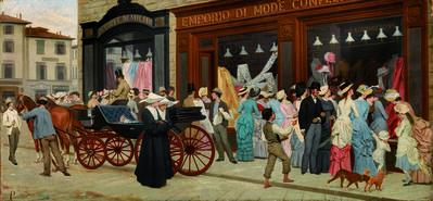 Antonio Puccinelli, 'La Moda', 1870
