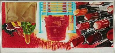 James Rosenquist, 'House of Fire', 1989