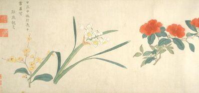 Wei Zhike, 'Twenty-Four Seasonal Flowers', 1604