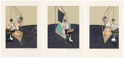 Francis Bacon, 'Three Studies of the Male Back', 1987