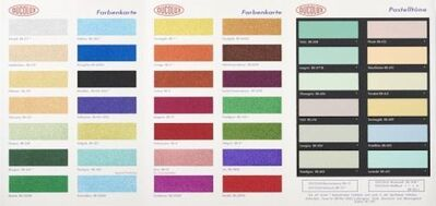 Damien Hirst, 'Colour Chart (Glitter) H3'