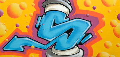 SEEN, 'Wildstyle Spray can', 2015