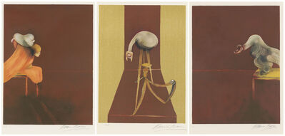 Francis Bacon, 'Second Version, Triptych 1944', 1989