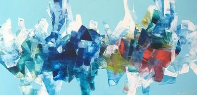 Stephanie Rivet, 'Exploration en bleu léger', 2019