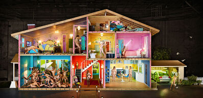 David LaChapelle, 'Self-Portrait as a House', 2013