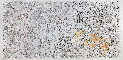 El Anatsui, 'Untitled (Gold with Gold Line)', 2013