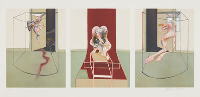 Francis Bacon, 'L'Orestie d'Eschyle (Oresteia of Aeschylus)', 1981