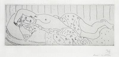 Henri Matisse, 'Nu couché, drapé dans une étoffe fleurie', 1929
