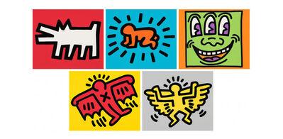 Keith Haring, 'Icons (Portfolio)', 1990
