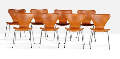 Arne Jacobsen, 'Set of 8 chairs', 1976