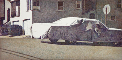 Robert Bechtle, 'Covered Car - Missouri Street', 2002